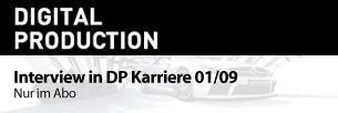 Interview in DP Karriere 01/09