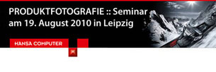 Produktfotografie Seminar Leipzig